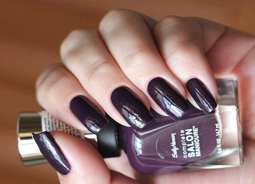 Лак Sally Hansen Salon №640 Plum Luck
