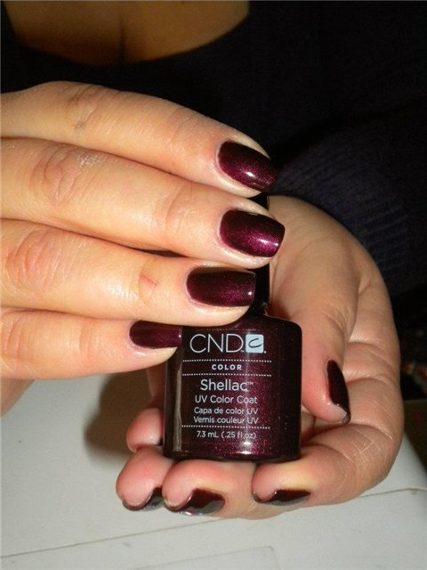 CND Shellac Dark Lava