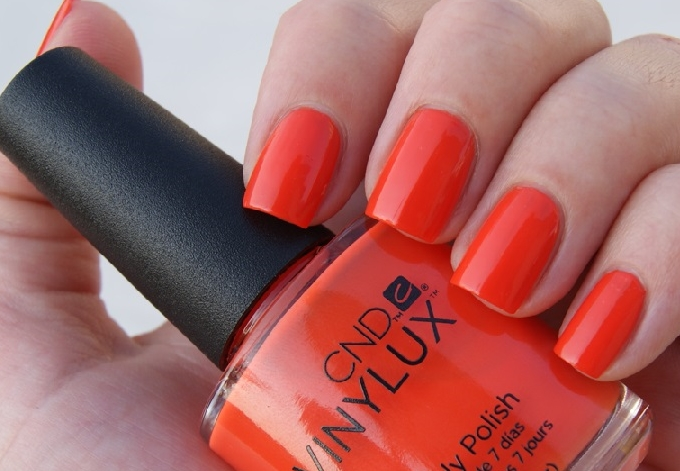 Shellac Electric Orange