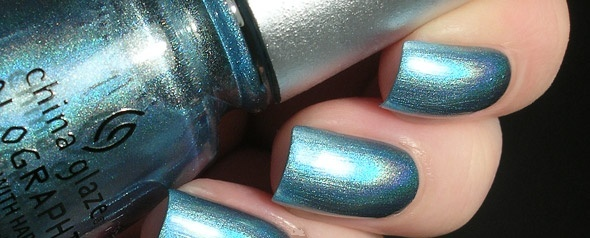лак China Glaze Holographic Sci-Fly By