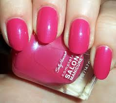 Лак Sally Hansen Salon №530 Back to the Fuchsia