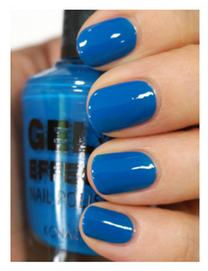 Лак Konad Gel Effect Nail Polish Deep Sea Blue