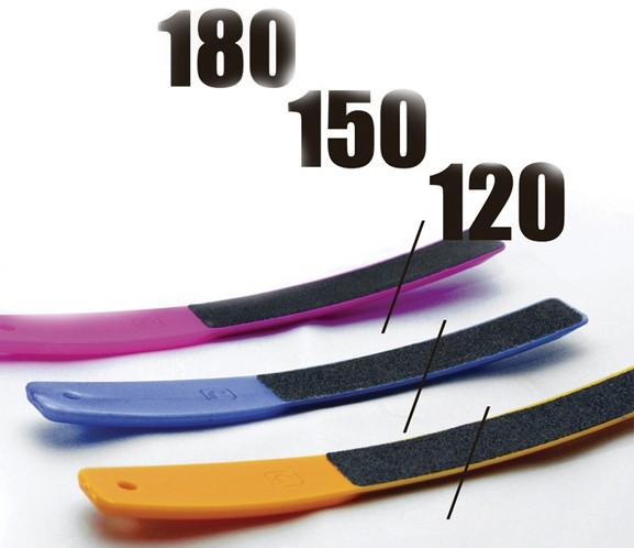 Сталекс ПЛ-01 Пилочка цветная, для ногтей 120/150/180 грит2