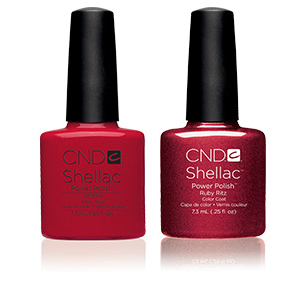 Shellac Wild Fire ruby ritz