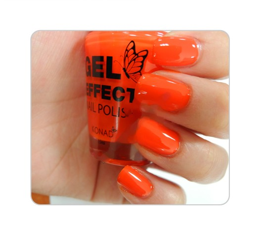 Лак Konad Gel Effect Nail Polish Tangerine Orange
