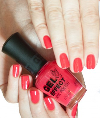 Лак Konad Gel Effect Nail Polish Reddish Pink