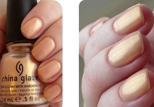 лак China Glaze Golden Meringue