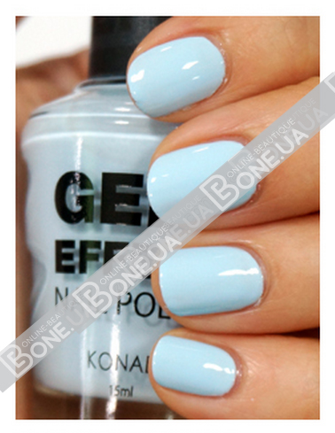 Лак Konad Gel Effect Nail Polish Baby Blue
