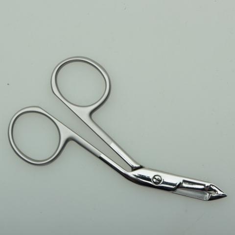 Сталекс ПН-04 Пинцет-ножницы для бровей1