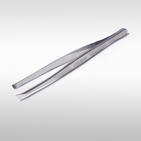 Сталекс П-01 Пинцет для бровей с прямыми рабочими кромками1