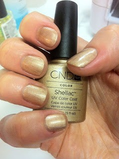 CND Shellac Iced Cappucino