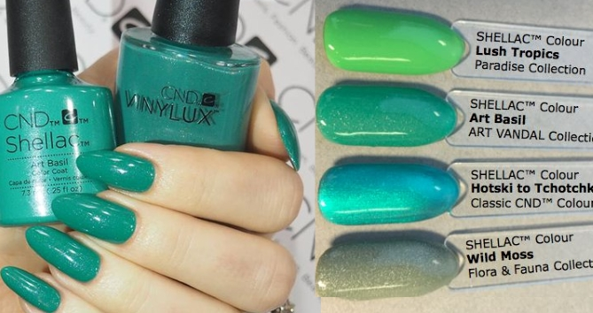 Гель-лак CND Shellac Art Basil
