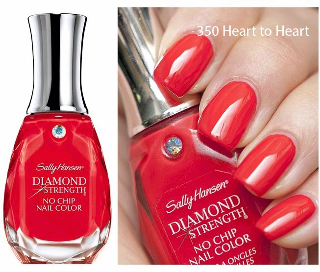 Лак Sally Hansen Diamond strength №350 Heart to Heart