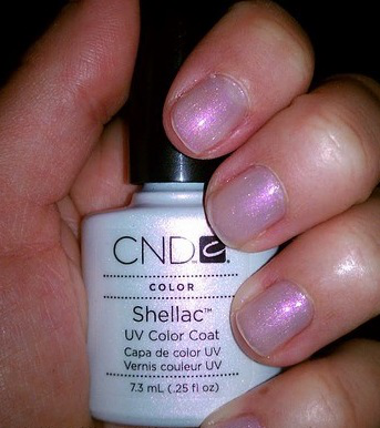 CND Shellac Moonlight & Roses