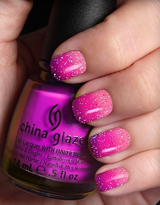 China Glaze CG OMBRE Neon Sunset