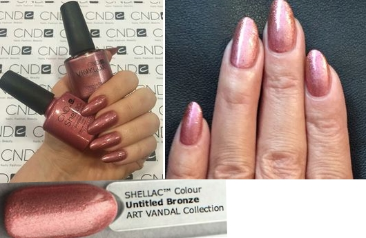 Гель-лак CND Shellac Untitled Bronze