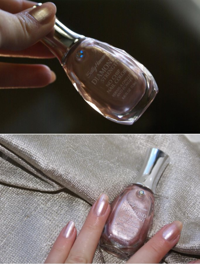 Лак Sally Hansen Diamond strength №420 Nude Shimmer