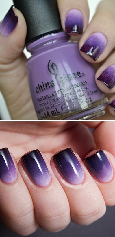 China Glaze OMBRE Grape Expectations