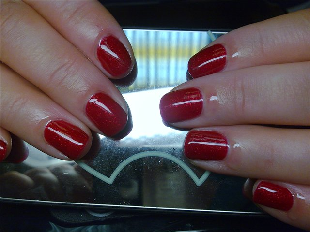 гель лак ibd Just Gel Polish Cosmic Red