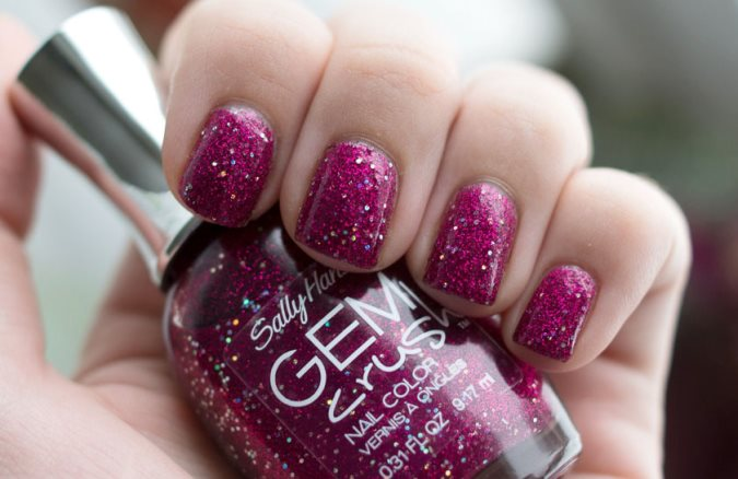 Лак Sally Hansen Gem сrush №07 Lady Luck