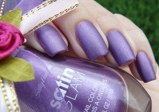 Лак Sally Hansen Satin glam №7