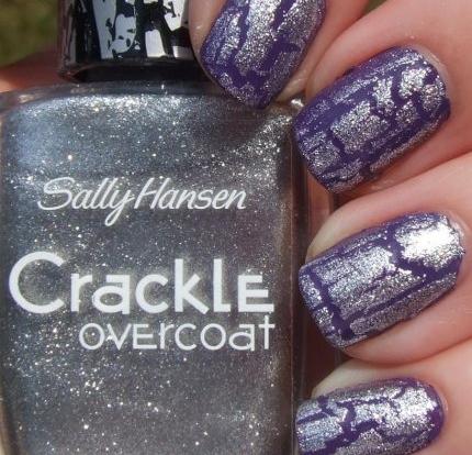Лак Sally Hansen Crackle №03 Fractured Foil