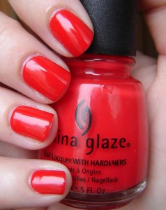 лак China Glaze Aztec Orange