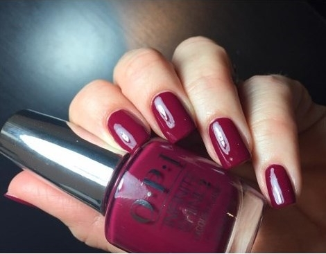 Лак OPI Infinite Shine Lacquer Berry On Forever