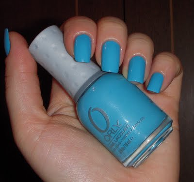 ORLY Blue Collar mini