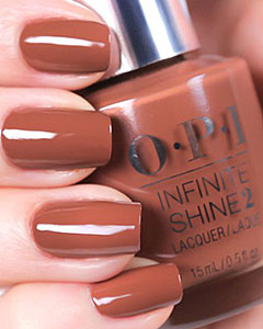 Лак OPI Infinite Shine Lacquer Brains & Bronze