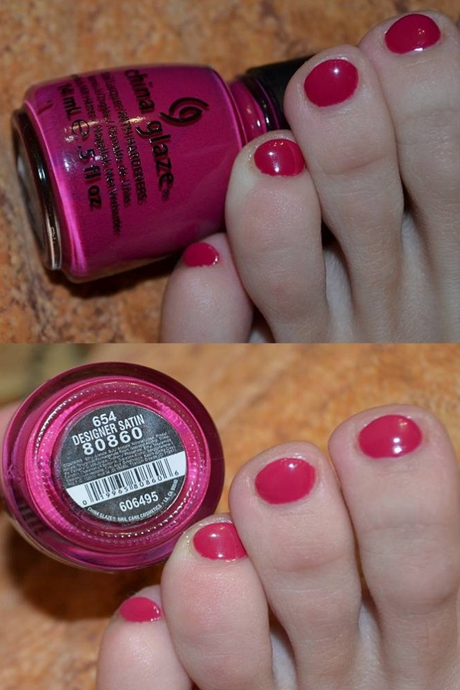 лак China Glaze Designer Satin