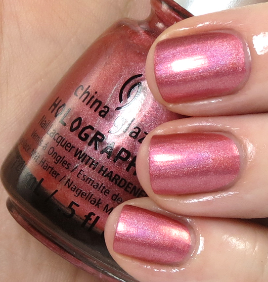 лак China Glaze Holographic Not In This Galaxy
