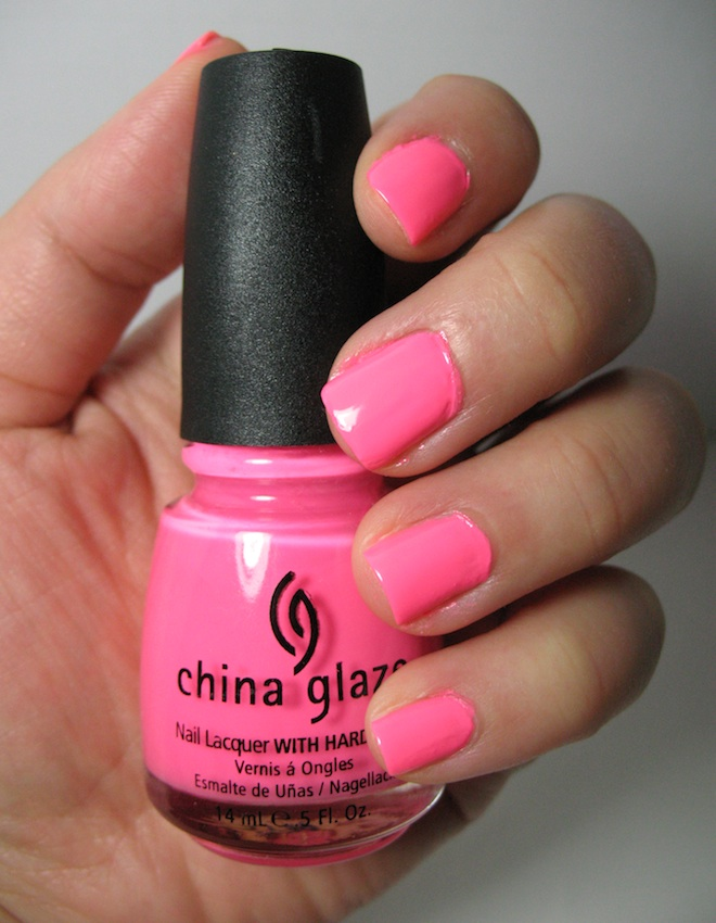 лак China Glaze Shocking Pink Lacquer