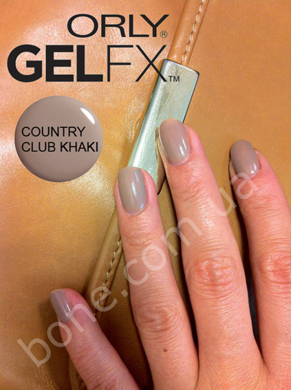 ORLY Gel FX Country Club Khaki