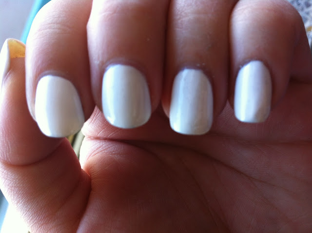 лак CND Brilliant White