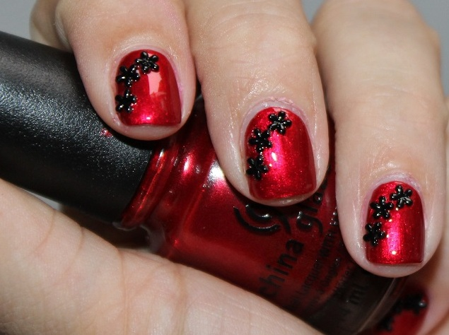 лак China Glaze Cranberry Splash