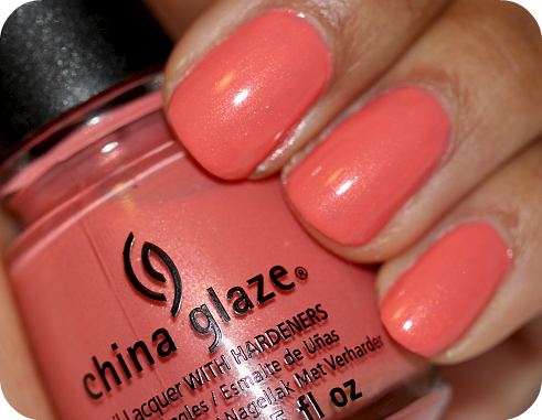 лак China Glaze Mimosa`s Before Mani`s