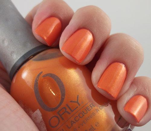 ORLY Orange Sorbet mini