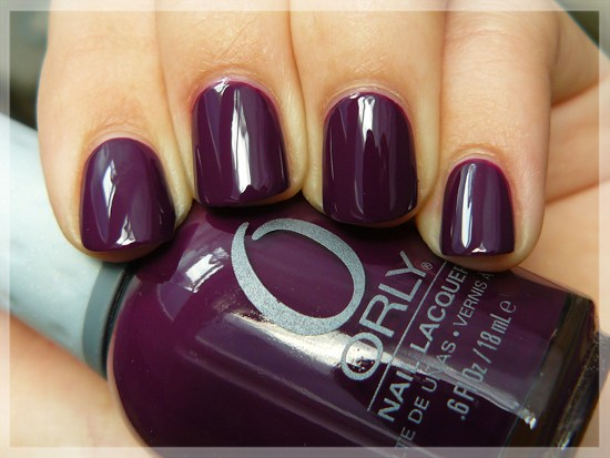ORLY Plum Noir