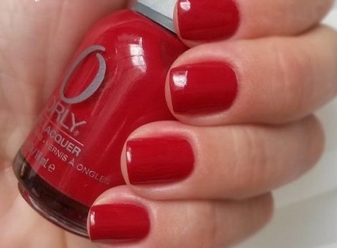 ORLY Red Flare mini
