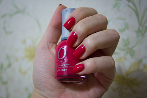 ORLY Rock On Red