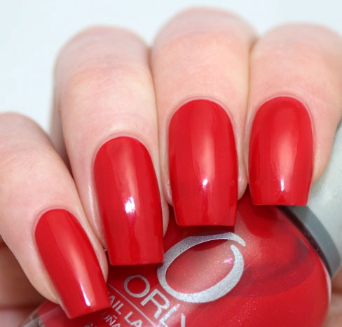 ORLY Monroes Red