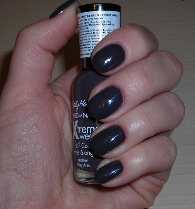 Лак Sally Hansen Xtreme wear №330 Grey Area