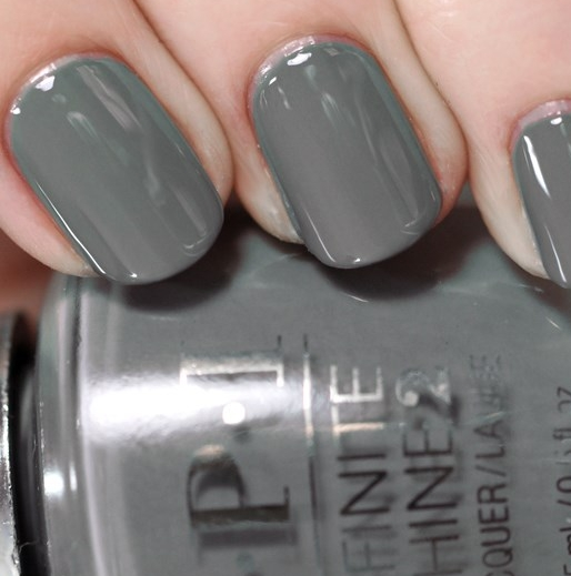 Лак OPI Infinite Shine Lacquer Steel Waters Run Deep