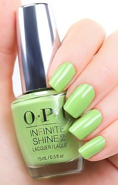 Лак OPI Infinite Shine Lacquer To The Finish Lime!