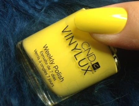VINYLUX 104 Bicycle Yellow