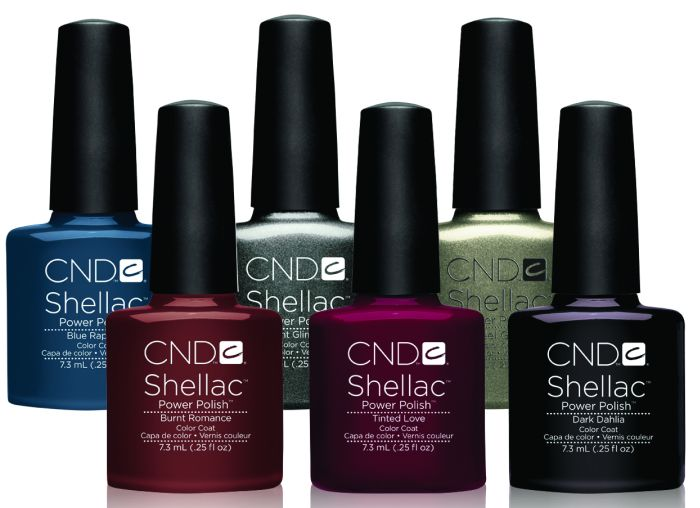 Shellac CND Autumn Forbidden Collection
