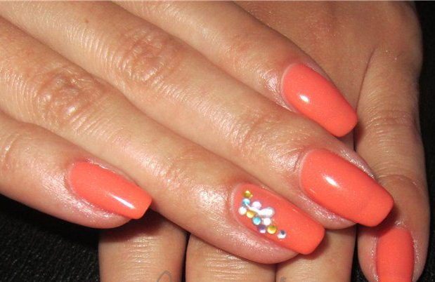 гель лак ibd Just Gel Polish Papaya Princess