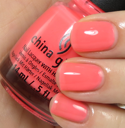 лак China Glaze Shell-o