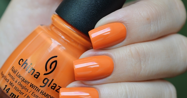 лак China Glaze Stoked to be soaked